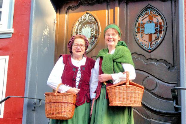 """""""Mit'm Lisbeth unnerwegens …"""" so heißen die Sonderstadtführungen in den Ferienmonaten. Foto: Kultur- & Tourist-Info Melsunger Land"""