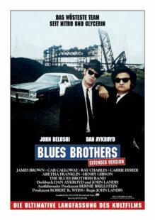 Das offizielle Kinoplakat zu den Blues Brothers. Repro: nh