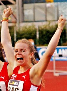 Nach der Goldmedaille in der Deutschen Meisterschaft will sich Vivian Groppe jetzt auch bei der Süddeutschen Meisterschaft an die Spitze laufen. Archivbild: nh