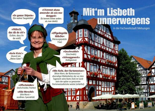 Wer mit'm Lisbeth auf Stadtrundgang geht, darf sich auf eine zünftige Sprache und etliche Anekdoten aus der Stadt der Bartenwetzer freuen. Quelle: Astrid Laabs