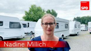 SPD-Pressereferentin Nadine Millich. Foto: nh
